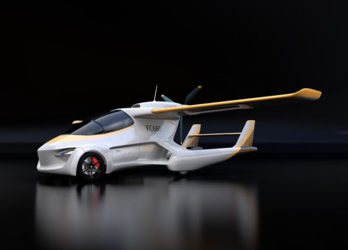 Auto Industry Looks To Get Off The Ground With Autonomous Flying Cars